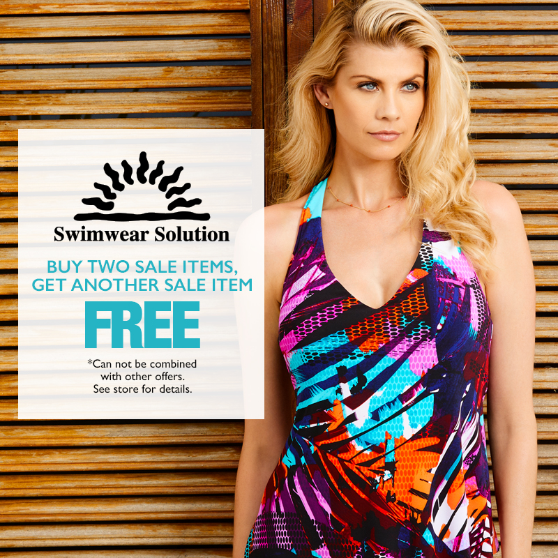 Buy two sale items get another sale item Free.